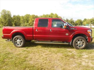 Used 2015 Ford F-250 Super Duty Lariat for sale in Omemee, ON