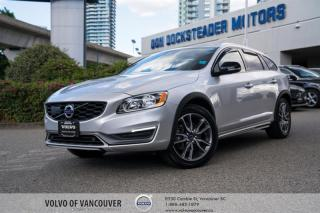 Used 2016 Volvo V60 Cross Country T5 AWD Premier NAVIGATION - TECH PKG - BLIND-SPOT for sale in Vancouver, BC