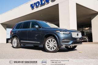 Used 2018 Volvo XC90 T6 AWD Inscription VISION PKG - CLIMATE PKG - TRAILER HITCH for sale in Vancouver, BC