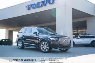 Used 2017 Volvo XC90 T6 AWD Inscription AIR SUSPENSION - B&W SOUND PKG - LOADED for sale in Vancouver, BC