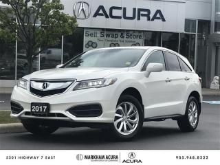 Used 2017 Acura RDX Tech at - COMING SOON - ACURA CERTIFIED for sale in Markham, ON