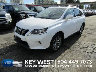 Used 2015 Lexus RX 350 AWD Sportdesign Sunroof Leather for sale in New Westminster, BC
