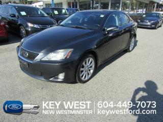 Used 2010 Lexus IS 250 AWD Sunroof Leather Nav Cam for sale in New Westminster, BC