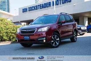 Used 2018 Subaru Forester 2.5i Touring w/ Eyesight CVT BLUETOOTH - HEATED SEATS - SUNROOF - POWER TAILGATE for sale in Vancouver, BC