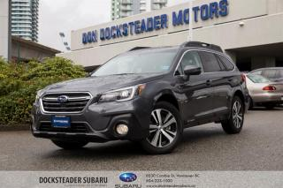 Used 2018 Subaru Outback 2.5i Limited at BLUETOOTH - LEATHER - NAVIGATION - HEATED SEATS - POWER TAILGATE for sale in Vancouver, BC