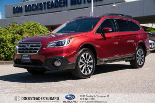 Used 2017 Subaru Outback 3.6R Limited w/ Technology at BLUETOOTH - LEATHER - NAVIGATION - SUNROOF - POWER TAILGATE for sale in Vancouver, BC