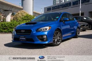 Used 2017 Subaru WRX 4Dr Sport-Tech Pkg 6sp BLUETOOTH - NAVIGATION - LEATHER - SUNROOF for sale in Vancouver, BC