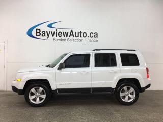 Used 2014 Jeep Patriot Sport/North - ALLOYS! A/C! U-CONNECT! PWR GROUP! CRUISE! for sale in Belleville, ON