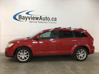 Used 2017 Dodge Journey GT - REM START! SUNROOF! HTD LTHR! ALIPNE! NAV! DVD! U-CONNECT! for sale in Belleville, ON