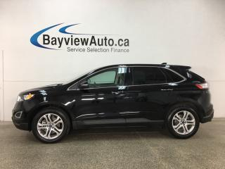 Used 2018 Ford Edge Titanium - 3.5L! KEYPAD! HTD LTHR! SYNC! WIFI! SONY! for sale in Belleville, ON