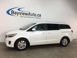 Used 2018 Kia Sedona LX+ - ALLOYS! PUSH BTN START! HTD SEATS! PWR SLIDERS! REVERSE CAM! for sale in Belleville, ON