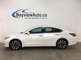Used 2018 Nissan Altima 2.5 SV - ALLOYS! REM START! SUNROOF! HTD SEATS! BSA! for sale in Belleville, ON