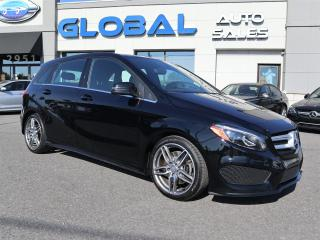 Used 2017 Mercedes-Benz B250 B250 4MATIC AMG STYLING PKG. PANOR. ROOF. for sale in Ottawa, ON