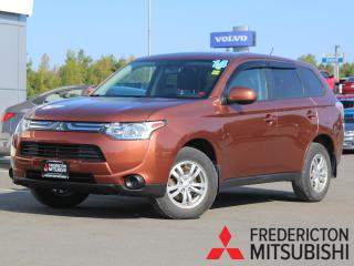 Used 2014 Mitsubishi Outlander ES 4X4 | HEATED SEATS | WARRANTY TO 2024 for sale in Fredericton, NB