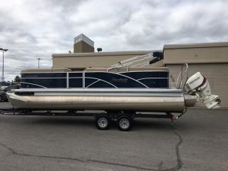 Used 2015 - SWEETWATER PREMIUM EDITION - EVINRUDE 150HP ETECH TRITOON! for sale in Belleville, ON