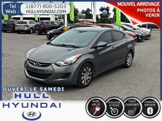 Used 2013 Hyundai Elantra GL for sale in Gatineau, QC