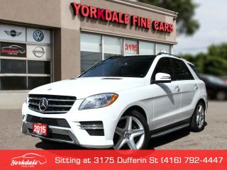 Used 2015 Mercedes-Benz ML-Class AMG Pkg Navigation, Panoramic, Distronic+ for sale in Toronto, ON