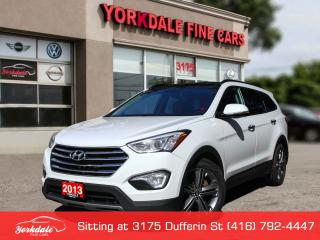 Used 2013 Hyundai Santa Fe XL Limited Navigation 7 Pass, Camera, Panoramic for sale in Toronto, ON