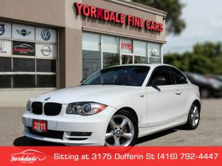 Used 2011 BMW 1 Series 128 i 6 Speed, Sunroof, Red Int for sale in Toronto, ON