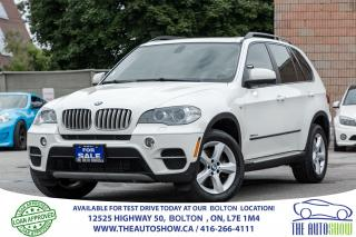Used 2012 BMW X5 DIESEL NAVI CERTIFIED NO ACCIDENTS SERVICE RECORDS for sale in Bolton, ON