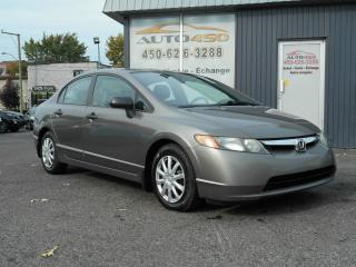 Used 2007 Honda Civic ***DX-G,AIR CLIMATISE,AUTOMATIQUE*** for sale in Longueuil, QC