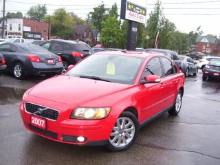 Used 2007 Volvo S40 T5,AUTO,A/C,LEATHER,SUNROOF,ALLOYS for sale in Kitchener, ON