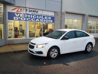 Used 2015 Chevrolet Cruze Ls Bluetooth A/c for sale in St-Hubert, QC