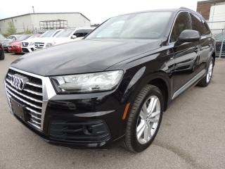Used 2017 Audi Q7 3.0T Technik, S-LINE, HUD, DRIVE ASSIST, NAVI for sale in Mississauga, ON