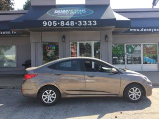 Used 2013 Hyundai Accent L for sale in Mississauga, ON