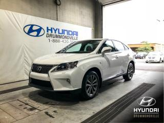 Used 2015 Lexus RX 350 F SPORT + CUIR + NAVI + WOW ! for sale in Drummondville, QC