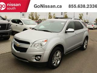 Used 2013 Chevrolet Equinox LTZ, LEATHER, NAVIGATION, SUNROOF, HEATED SEATS, BACKUP CAMERA for sale in Edmonton, AB