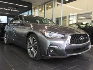New 2019 Infiniti Q50 EXECUTIVE DEMO, Signature Edition for sale in Edmonton, AB