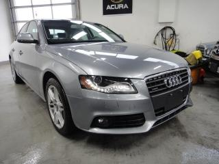 Used 2009 Audi A4 NAVI,BACK CAM,AWD,2.0 T,ALL SERIVEC RECORDS for sale in North York, ON