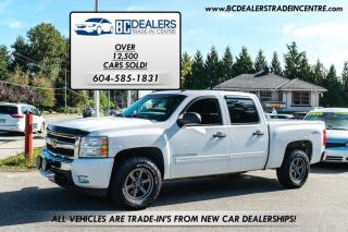 Used 2009 Chevrolet Silverado 1500 LT Crew Cab 4x4, New Bodystyle, V8, Local Truck! for sale in Surrey, BC