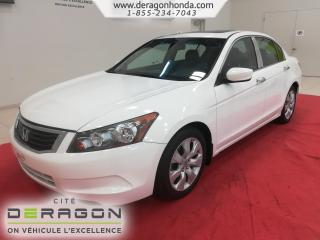 Used 2010 Honda Accord Ex-L+cuir+t.ouvrant for sale in Cowansville, QC