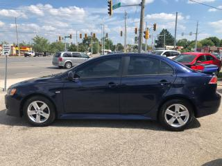 Used 2013 Mitsubishi Lancer ES Sport/ONE OWNER/NO ACCIDENT/CERTIFIED/WARRANTY for sale in Cambridge, ON