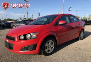 Used 2014 Chevrolet Sonic LS/ONE OWNER/CERTIFIED/WARRANTY INCLUDED for sale in Cambridge, ON