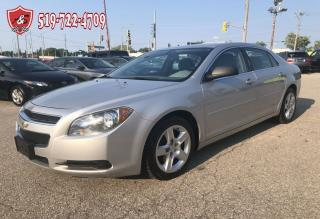 Used 2011 Chevrolet Malibu LS/NO ACCIDENT/CERTIFIED/WARRANTY INCLUDED for sale in Cambridge, ON