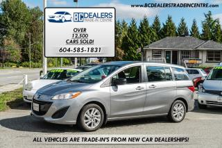 Used 2014 Mazda MAZDA5 GS, No Accidents, Only 60,000 km's, 4-Cylinder! for sale in Surrey, BC