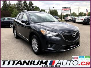 Used 2015 Mazda CX-5 GS-GPS-Camera-Blind Spot-Sunroof-Heated Power Seat for sale in London, ON