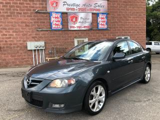 Used 2009 Mazda MAZDA3 GT/2.3L/CERTIFIED/WARRANTY INCLUDED for sale in Cambridge, ON