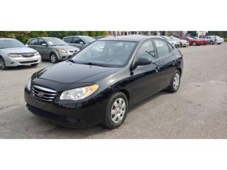 Used 2010 Hyundai Elantra GL for sale in St-jérôme, QC