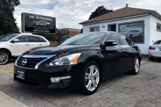 Used 2013 Nissan Altima 3.5 SL NAVI BACK-UP CAM LEATHER  NO ACCIDENT for sale in Mississauga, ON