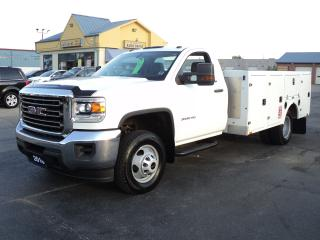 Used 2016 GMC Sierra 3500 Cab Chassis 6.0L DRW Utility for sale in Brantford, ON