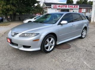 Used 2004 Mazda MAZDA6 Certified/Leather/Roof/Heated Seats/Wagon for sale in Scarborough, ON