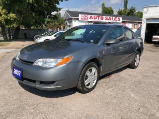 Used 2007 Saturn Ion Certified/5 Speed Manual/Sunroof/Gas Saver for sale in Scarborough, ON