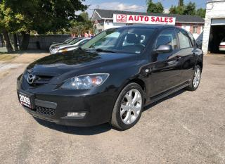 Used 2009 Mazda MAZDA3 Certified/5 Speed Manual/Accident Free/Gas Saver for sale in Scarborough, ON
