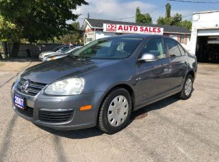 Used 2007 Volkswagen Jetta Certified/Accident Free/Automatic/Gas Saver for sale in Scarborough, ON