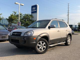 Used 2005 Hyundai Tucson GL V6 AWD at for sale in Barrie, ON
