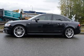 Used 2013 Audi A4 2.0T Premium Quattro S Line Sedan for sale in Vancouver, BC